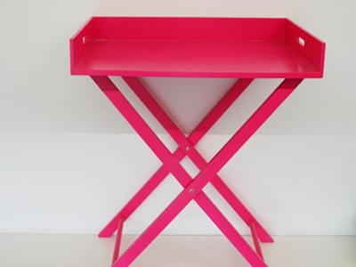 Buttler tray fusia large
