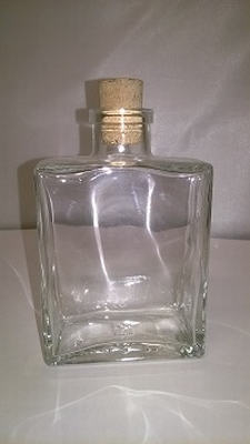 Capri flesje medium 200ml (voor jenever of handzeep)