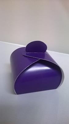 Bonbondoosje night purple - € 0,80 /stuk - vanaf 10 stuks