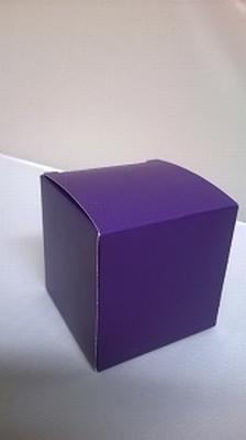 Kubus night purple - € 0,80 /stuk - vanaf 10 stuks