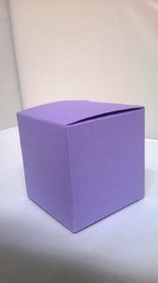 Kubus metalic paars - € 0,80 /stuk - vanaf 10 stuks