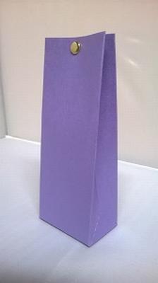Laag tasje metalic paars - € 0,80 /stuk - vanaf 10 stuks