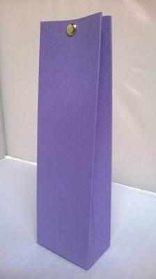 Hoog tasje metalic paars - € 0,80 /stuk - vanaf 10 stuks