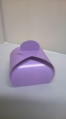 Bonbondoosje zacht paars - € 0,80 /stuk - vanaf 10 stuks