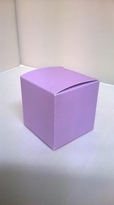 Kubus zacht paars - € 0,80 /stuk - vanaf 10 stuks