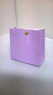 Breed tasje zacht paars - € 0,80 /stuk - vanaf 10 stuks