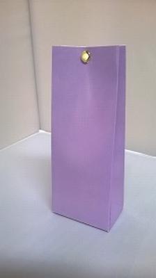Laag tasje zacht paars - € 0,80 /stuk - vanaf 10 stuks