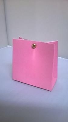 Breed tasje pink roze - € 0,80 /stuk - vanaf 10 stuks