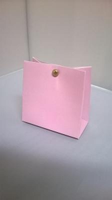 Breed tasje baby roze - € 0,80 /stuk - vanaf 10 stuks