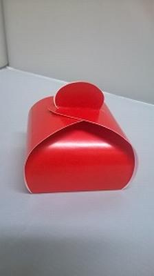 Bonbondoosje hot red - € 0,80 /stuk - vanaf 10 stuks