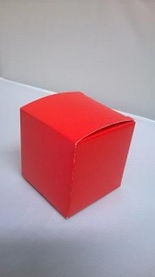 Kubus hot red - € 0,80 /stuk - vanaf 10 stuks