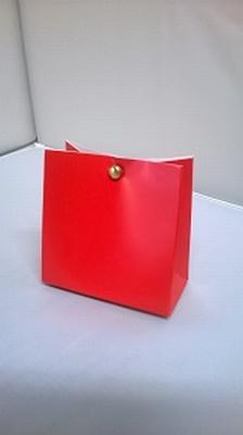 Breed tasje hot red - € 0,80/stuk - vanaf 10 stuks