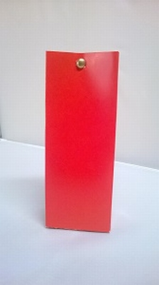 Laag tasje hot red - € 0,80 /stuk - vanaf 10 stuks