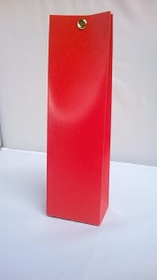 Hoog tasje hot red - € 0,80 /stuk - vanaf 10 stuks