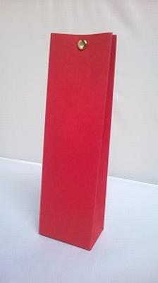 Hoog tasje kersenrood - € 0,80 /stuk - vanaf 10 stuks
