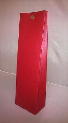 Hoog tasje metalic rood - € 0,80 /stuk - vanaf 10 stuks