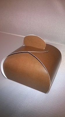 Bonbondoosje licht bruin - € 0,80 /stuk - vanaf 10 stuks
