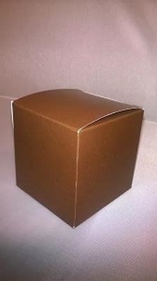Kubus licht bruin - € 0,80 /stuk - vanaf 10 stuks