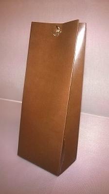 Laag tasje licht bruin - € 0,80 /stuk - vanaf 10 stuks