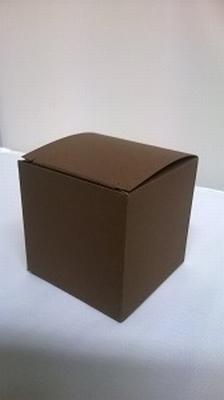 Kubus donker bruin malmero tourbe - € 0,80 /st vanaf 10st