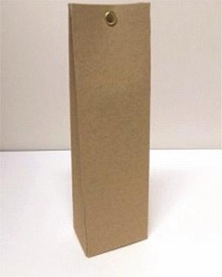 Hoog tasje muskat new brown - € 0,80 /stuk - vanaf 10 stuks