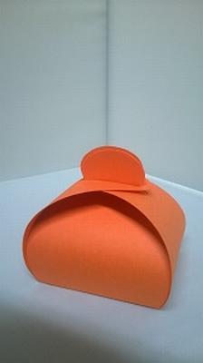 Bonbondoosje oranje malmero orange - € 0,80 /stuk vanaf 10st