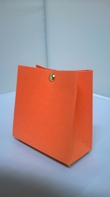 Breed tasje oranje malmero orange - € 0,80 /st - vanaf 10 st