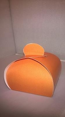 Bonbondoosje appelsien oranje - € 0,80 /stuk - vanaf 10stuks