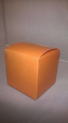 Kubus appelsien oranje - € 0,80 /stuk - vanaf 10 stuks