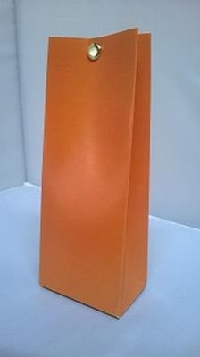 Laag tasje appelsien oranje - € 0,80 /stuk - vanaf 10 stuks