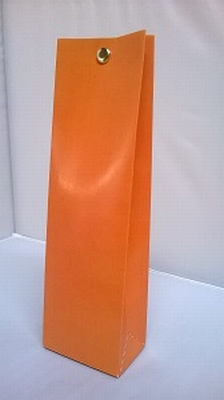 Hoog tasje appelsien oranje - € 0,80 /stuk - vanaf 10 stuks