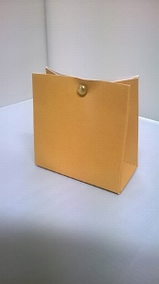 Breed tasje goudkleur - € 0,80 /stuk - vanaf 10 stuks