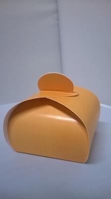 Bonbondoosje licht oranje - € 0,80 /stuk - vanaf 10 stuks