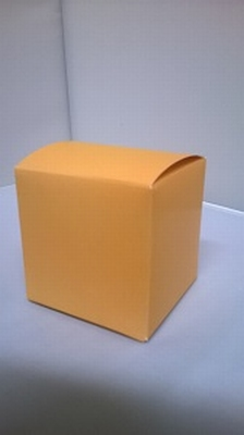 Kubus licht oranje - € 0,80 /stuk - vanaf 10 stuks