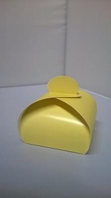 Bonbondoosje licht geel - € 0,80 /stuk - vanaf 10 stuks