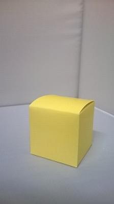 Kubus licht geel - € 0,80 /stuk - vanaf 10 stuks