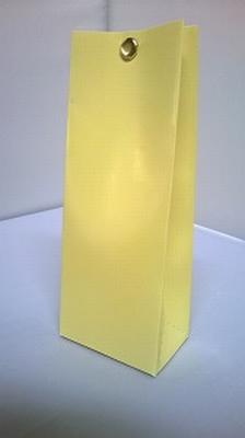 Laag tasje licht geel - € 0,80 /stuk - vanaf 10 stuks