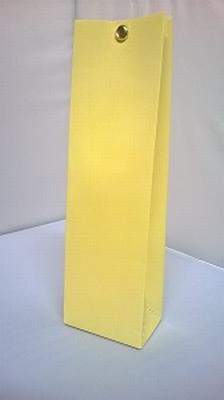 Hoog tasje licht geel - € 0,80 /stuk - vanaf 10 stuks