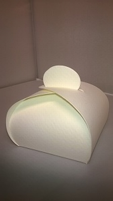 Bonbondoosje conquer licht geel - € 0,80 /stuk - vanaf 10 st