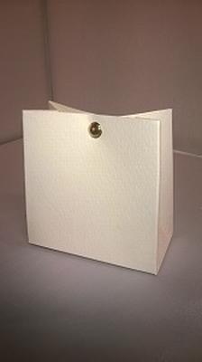 Breed tasje conquer licht geel - € 0,80/stuk - vanaf 10 st
