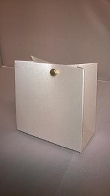 Breed tasje extra blink goud licht - €0,80 /st - vanaf 10 st