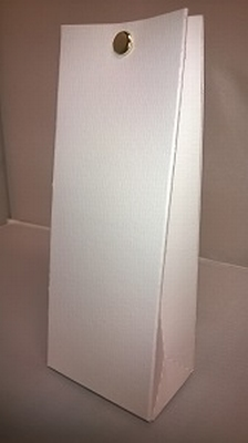 Laag tasje conquer vergeerd licht wit - €0,80/stuk vanaf10st