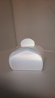 Bonbondoosje extra blink wit - € 0,80 /stuk - vanaf 10 stuks