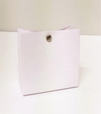 Breed tasje valentinoise wit - € 0,80 /stuk - vanaf 10 stuks