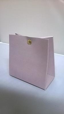 Breed tasje licht grijs - € 0,80 /stuk - vanaf 10 stuks