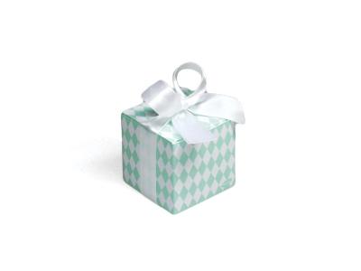 Betty Nachtblauw Arlequin kubus doosje