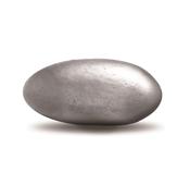 Chocoladeboon zilver metal 1 kg