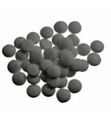 Smarties confetti grafiet grijs gelakt 1 kg