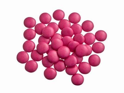Smarties confetti fuchsia 1 kg
