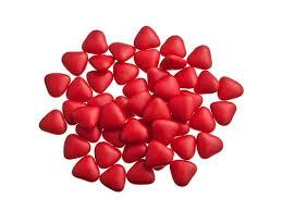 Smartie hartjes rood 1 kg